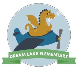 Dream Lake Elementary Tshirt Logo